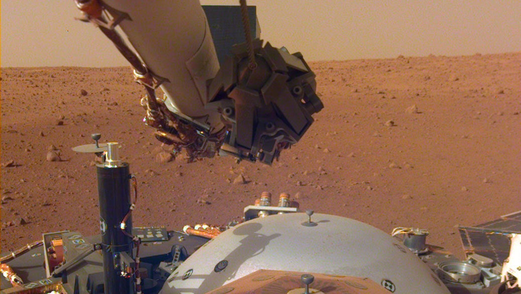 New Images From Mars Show NASA's InSight Landed On An Absolutely Glorious Spot
