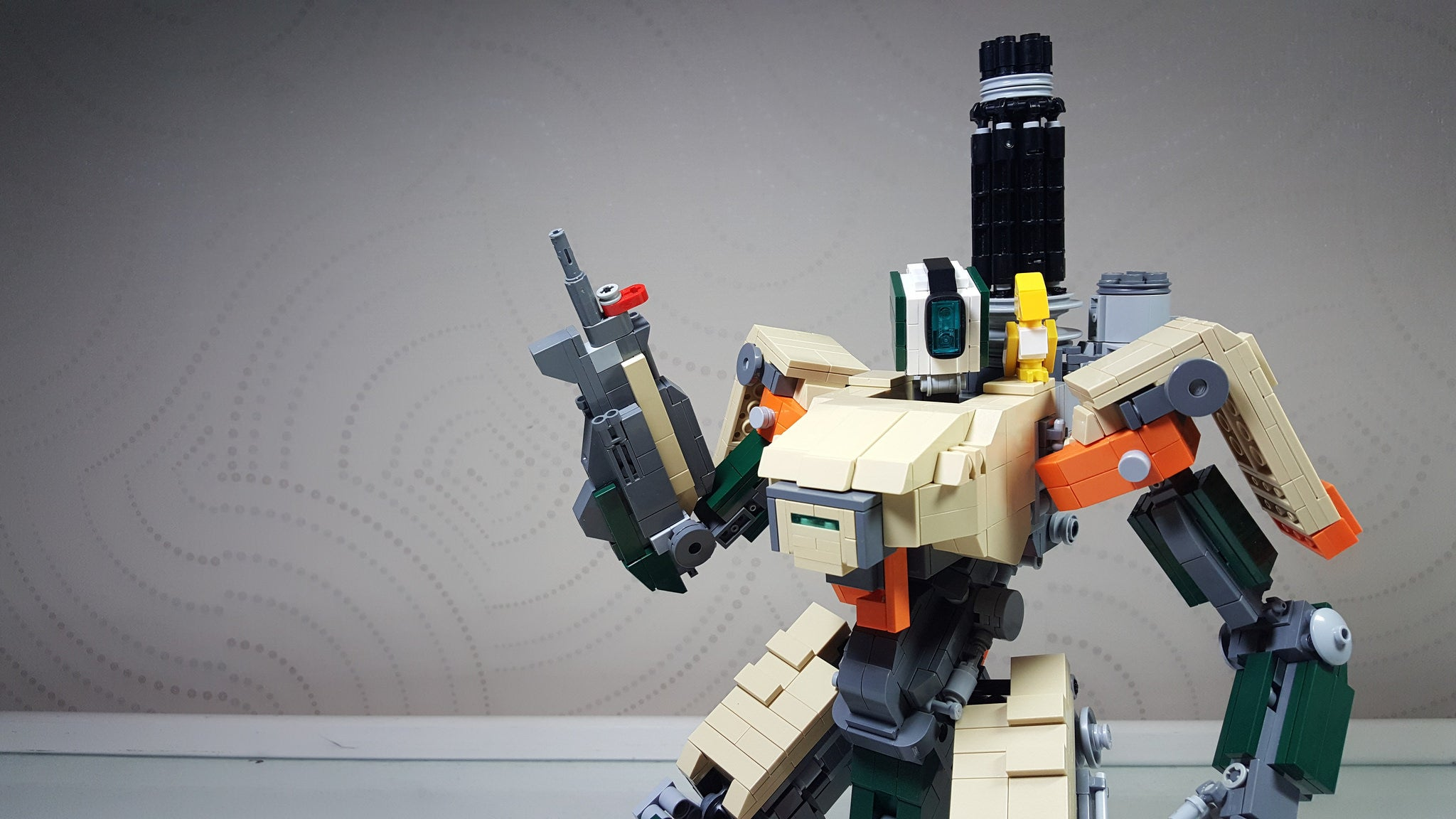 bastion blizzar lego overrwatch