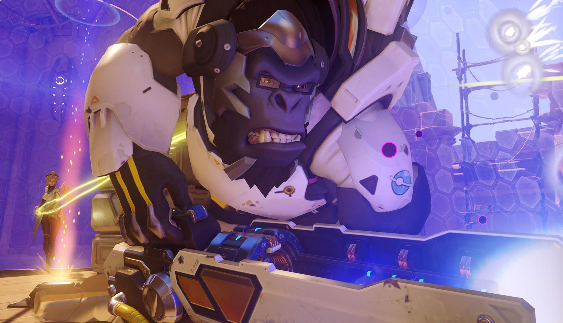 Overwatch Pro Makes Exquisite Last-Second Recovery With Winston's Jump Pack