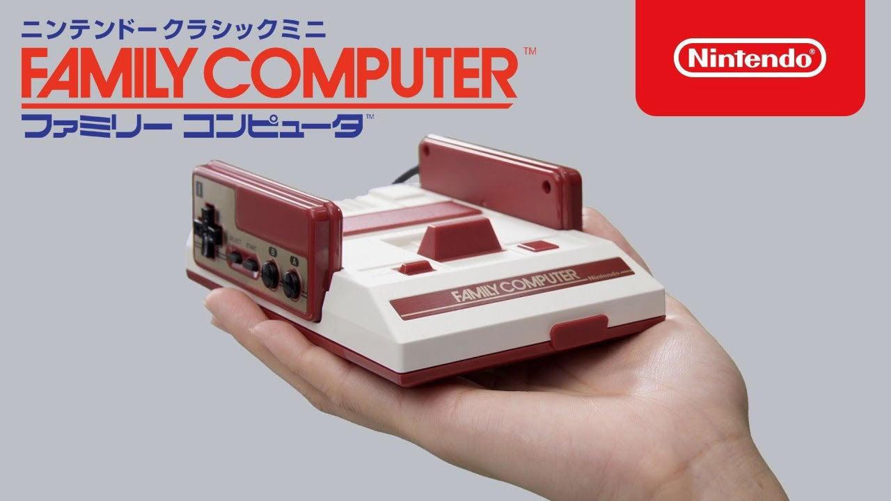 famicom japan mini-consoles nostalgia video
