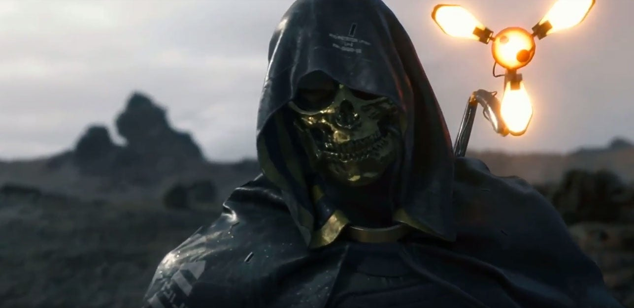 New Death Stranding Trailer Stars A Very Golden Troy Baker