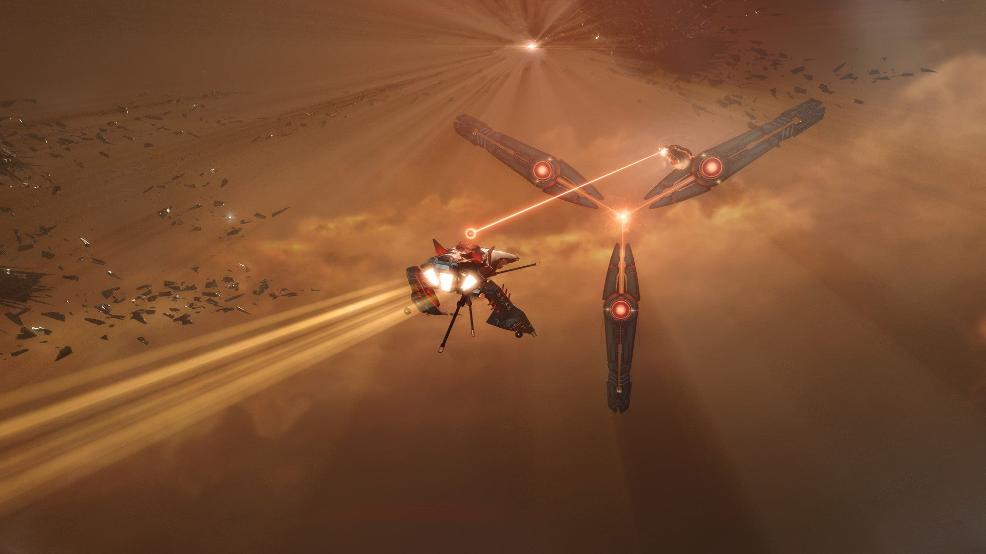 EVE Online Alliances Are Positioning For A Massive War