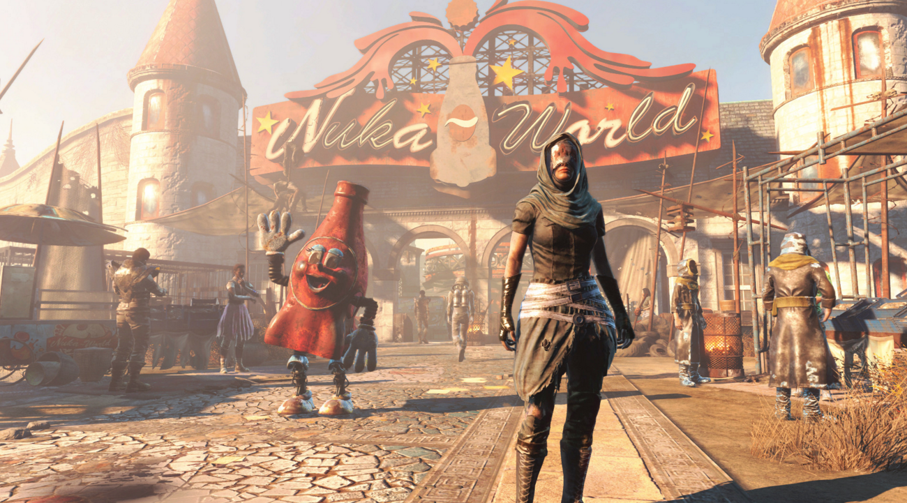 bethesda fallout-4 kotaku-core nuka-world raiders