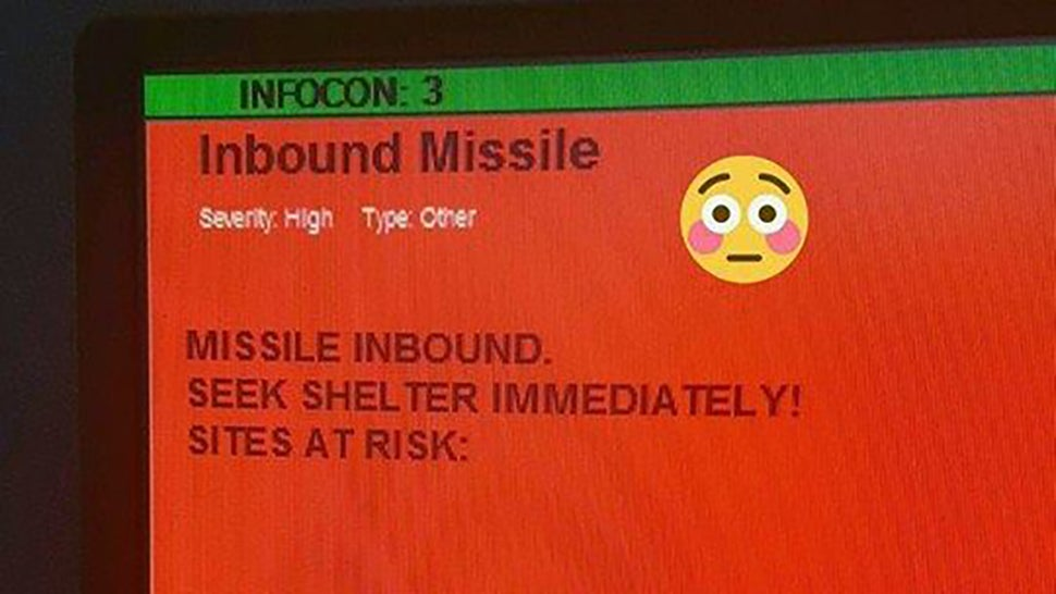 Accidental Inbound Missile Warning Scares The Hell Out Of US Air Force Personnel