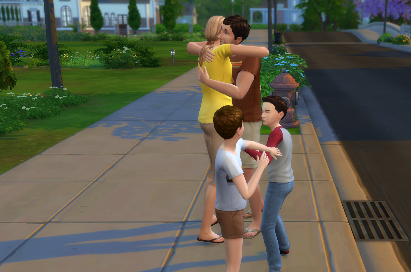 She Took Up His Sims Challenge, Now They're Married