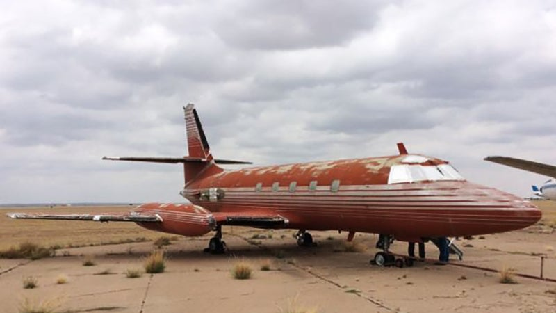 Nobody Wants Elvis Presley's Sad Old Aeroplane