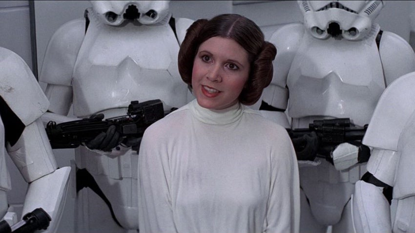 Ah, So That's Why Leia Was At The Battle Of Scarif In Rogue One