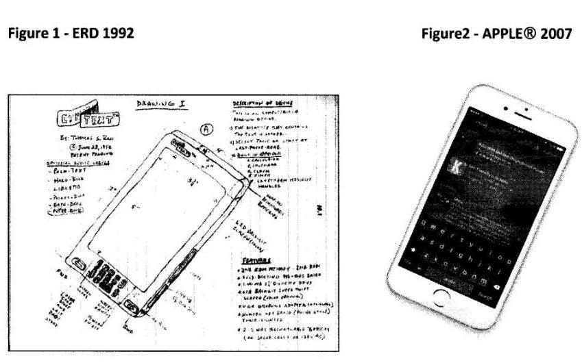 apple iphone patents