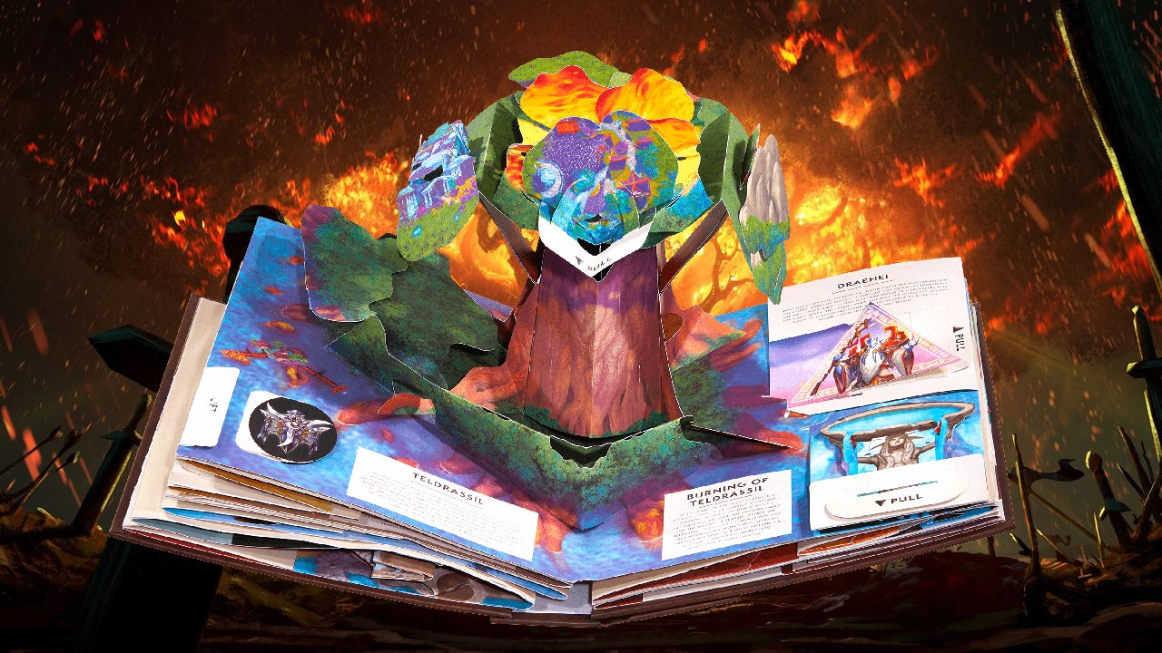 World Of Warcraft's Greatest Tragedies Look So Much Cuter In A Pop-Up Book