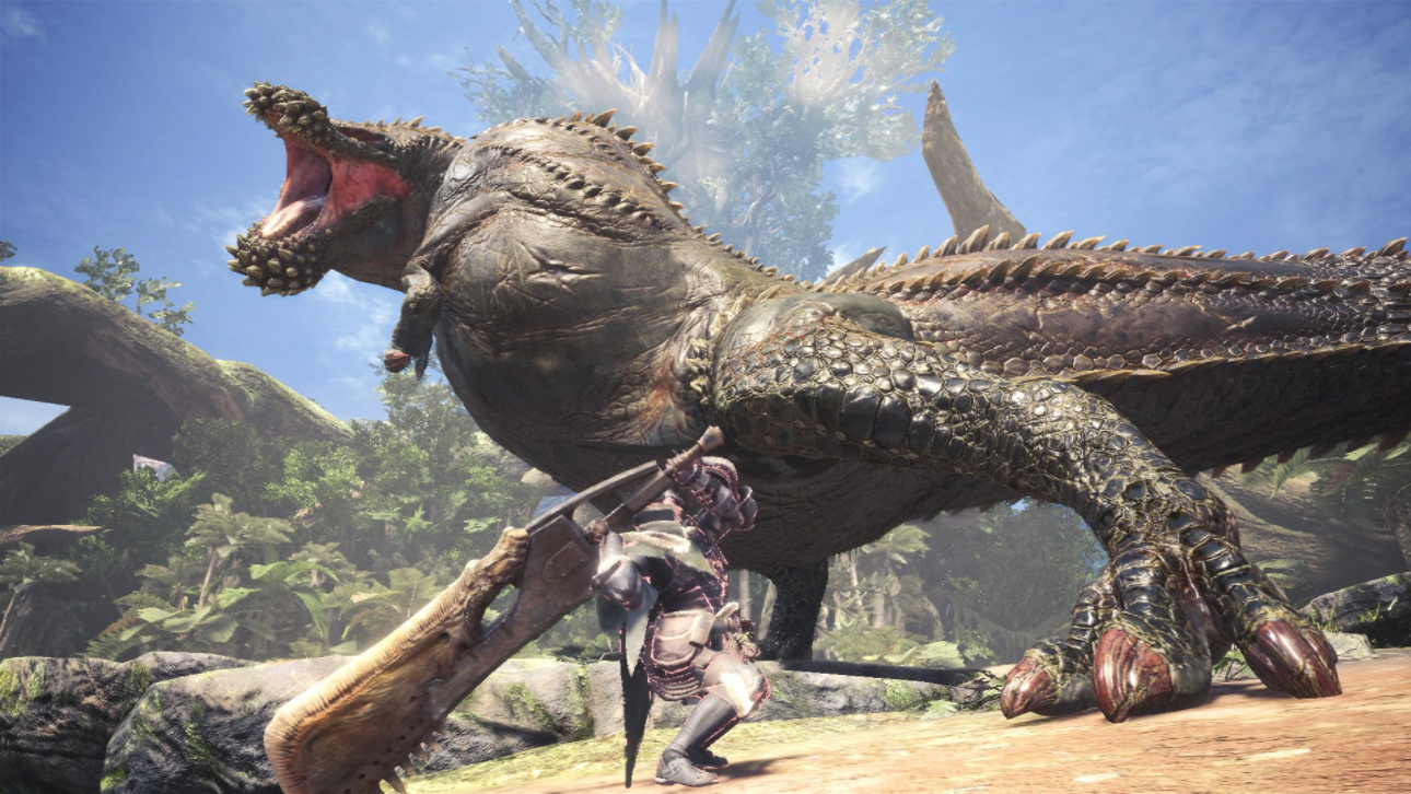 Monster Hunter: World's New Beast Utterly Destroys Other Monsters