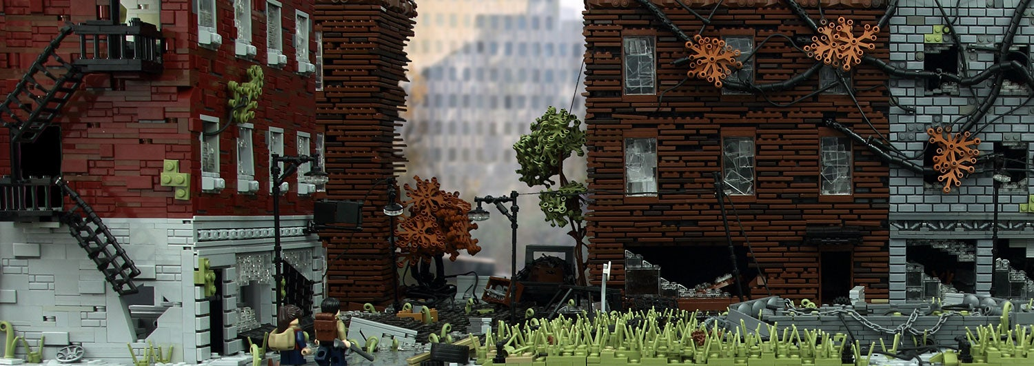 The Last Of Us Remade In Giant LEGO Build