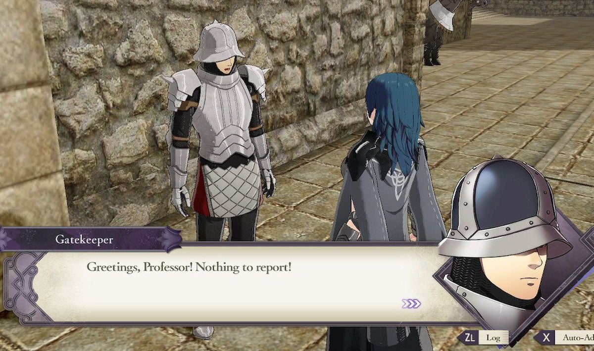 Fire Emblem Hacker Makes The Gatekeeper Playable, And His Charm Stat Is Huge