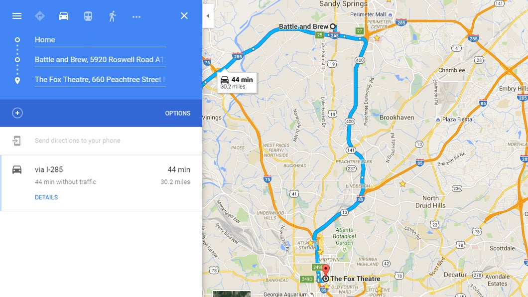 android directions google location maps navigation