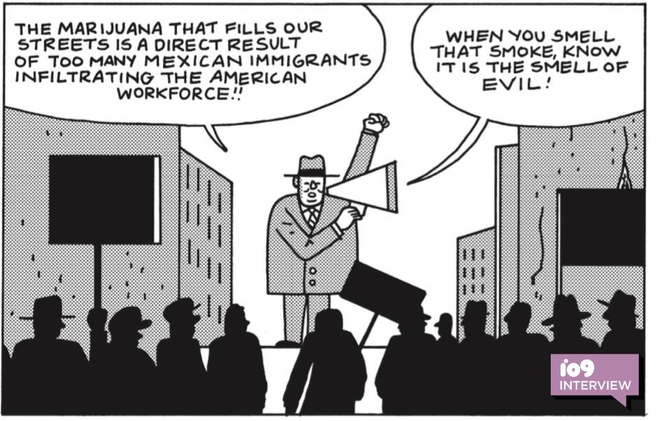 A New Graphic Novel Explores How Racism Made Weed Illegal