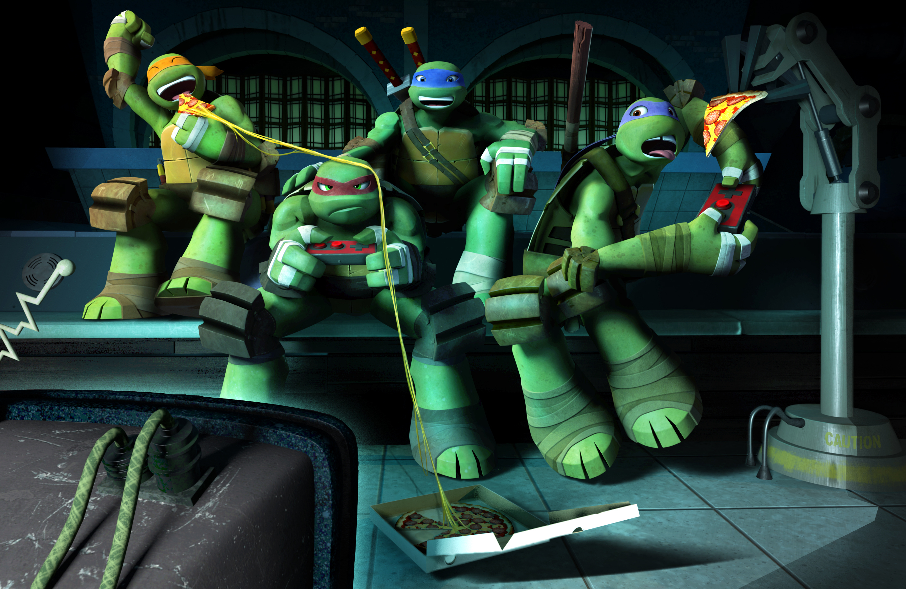 Teenage Mutant Ninja Turtles Is Getting A New Four Player Arcade Game