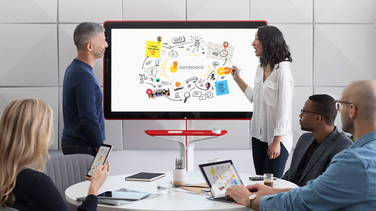 google jamboard video whiteboards