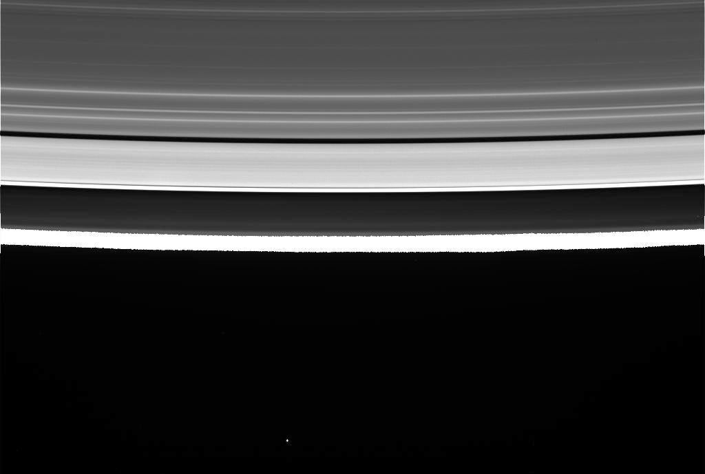 Cassini's First Grand Finale Images Are Stunning, But What Are We Really Looking At?
