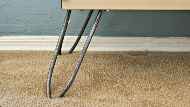 Diy Hairpin Furniture Legs Provide Mid Century Modern