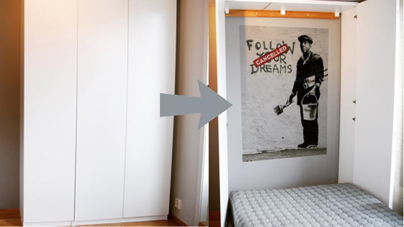 Turn Ikea Cabinets Into A Murphy Bed Lifehacker Australia