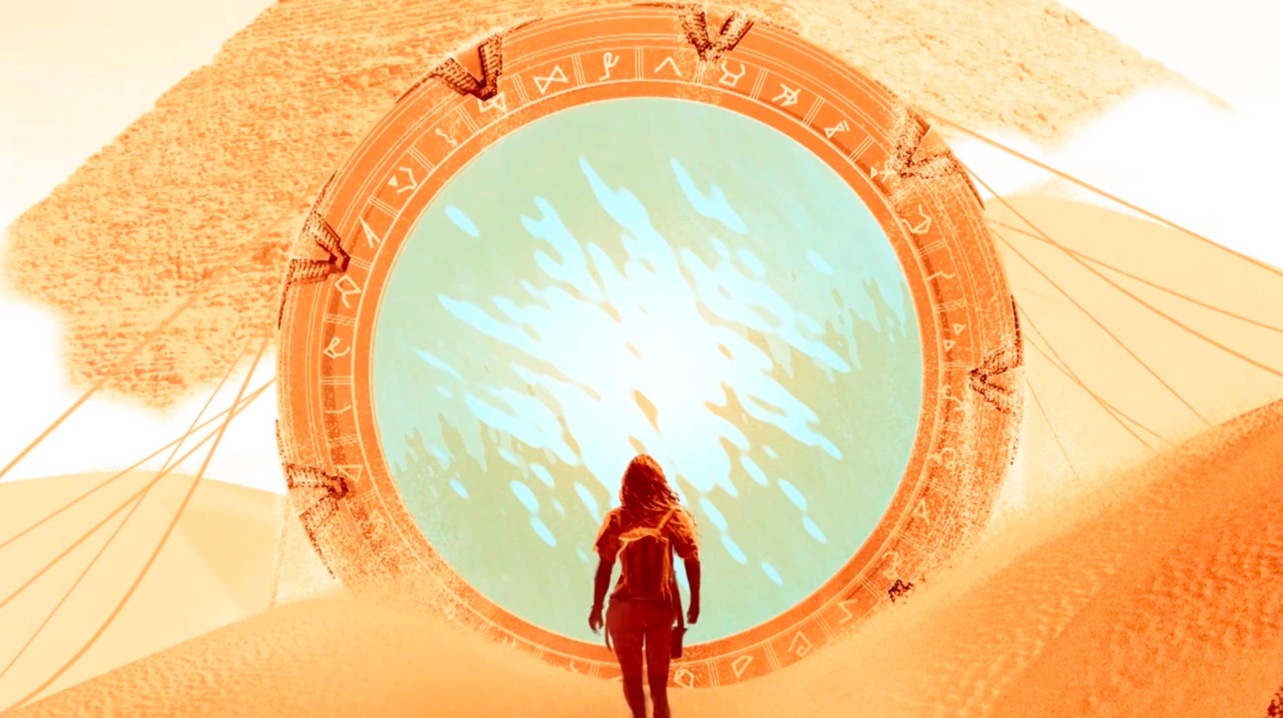 Stargate - Magazine cover