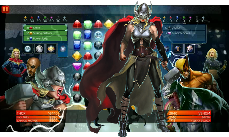The Female Thor Is Already A Playable Video Game Character