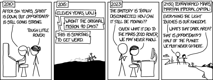 mars rover opportunity last words - photo #33
