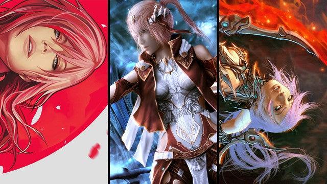 Tetsuya Nomura Picks The Three Best Lightning Fan Art