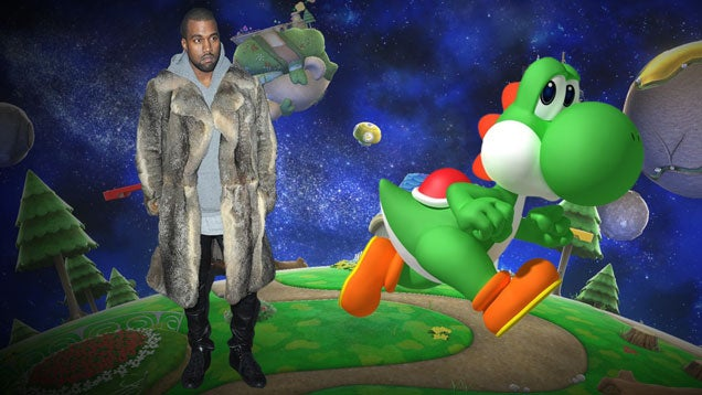 I Bet Kanye West Uses Yoshi In Smash Bros., And Other Guesses