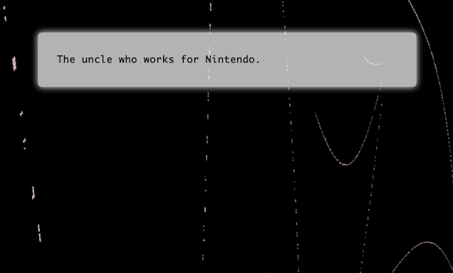 Play This: A Horror Game About That Uncle Who Works For Nintendo