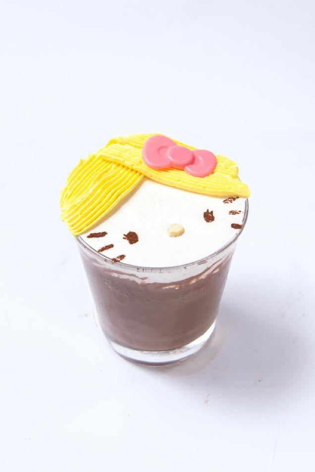 Drink Hello Kitty Coffee in Tokyo