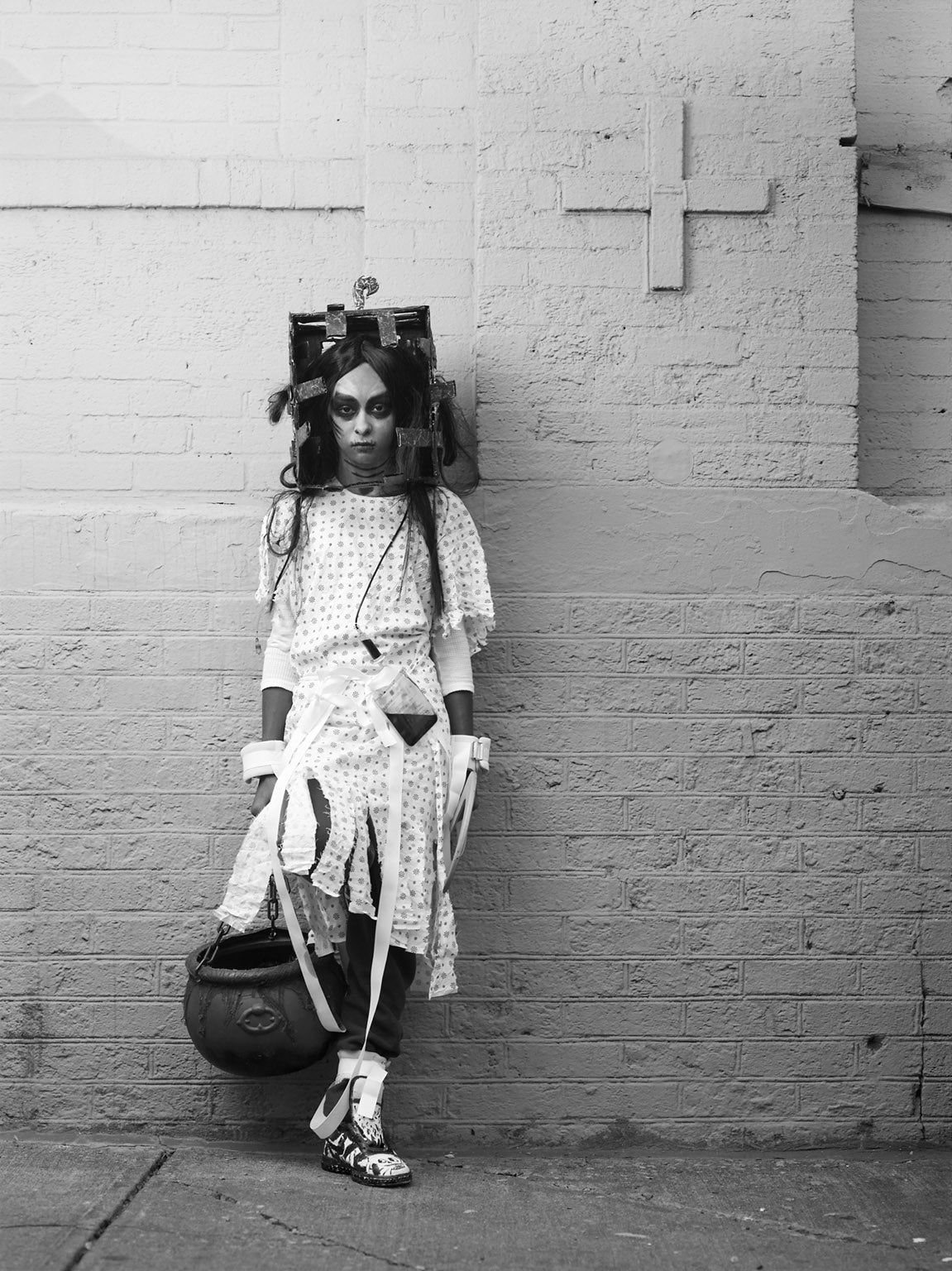 These Street Portraits Are the Most Beautiful Tribute to Halloween