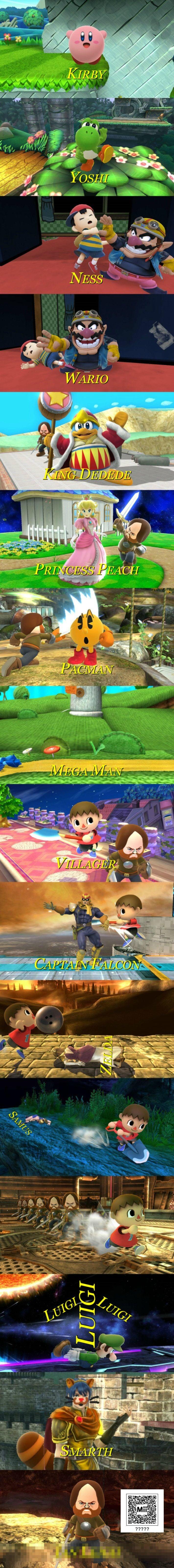 Too Many Super Smash Bros.