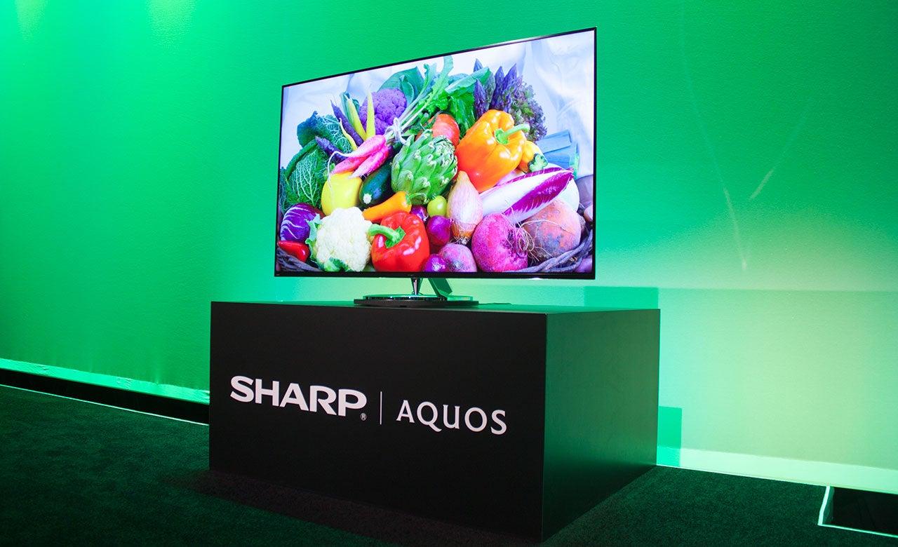 Sharp's Super Slim 4K TV Is Like Whoa Skinny