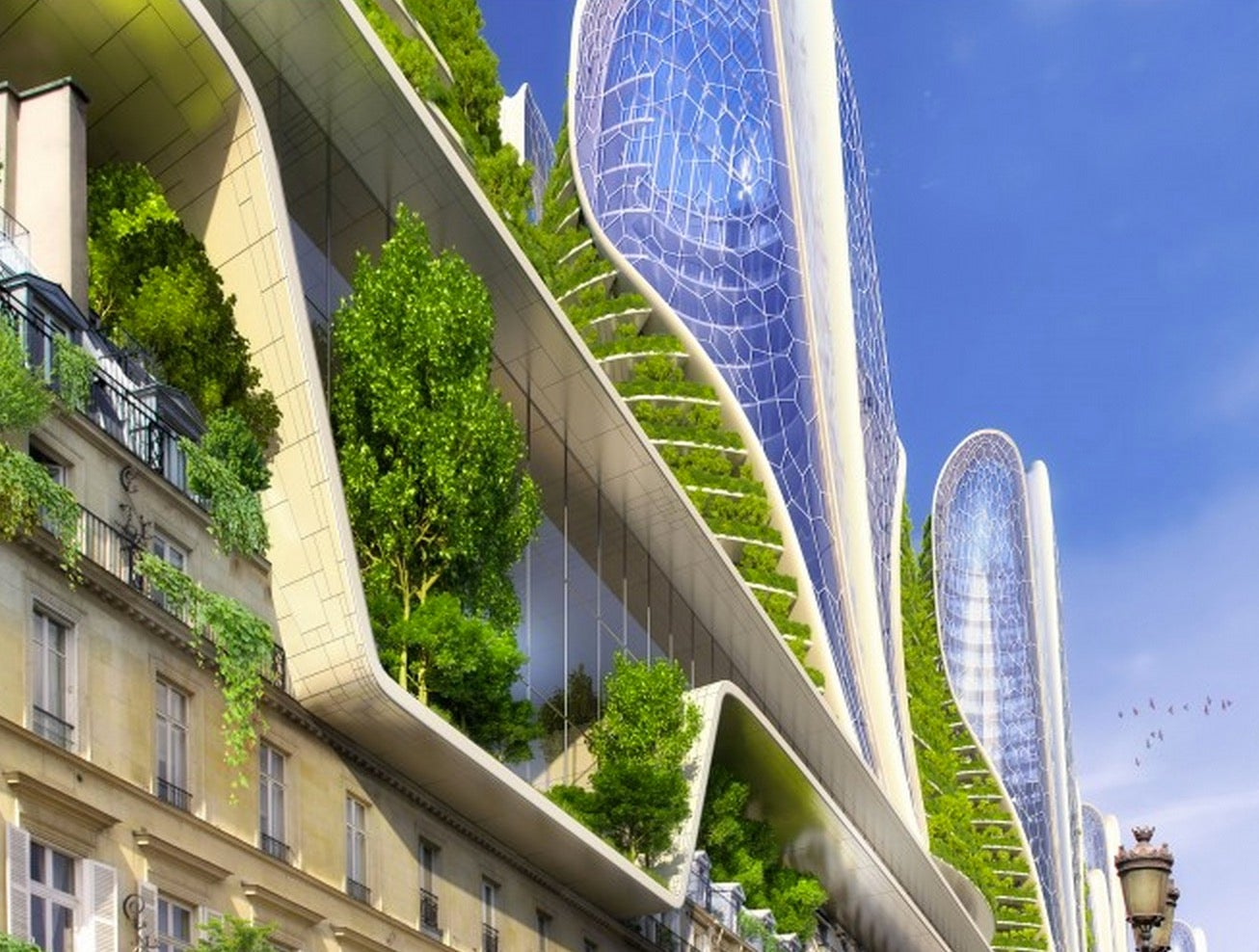 Paris as a Green and Sustainable Future City Is Even More Beautiful