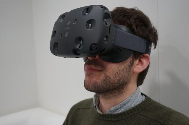 I Tried HTC's Newest Vive VR Headset, Here's What It Looks Like