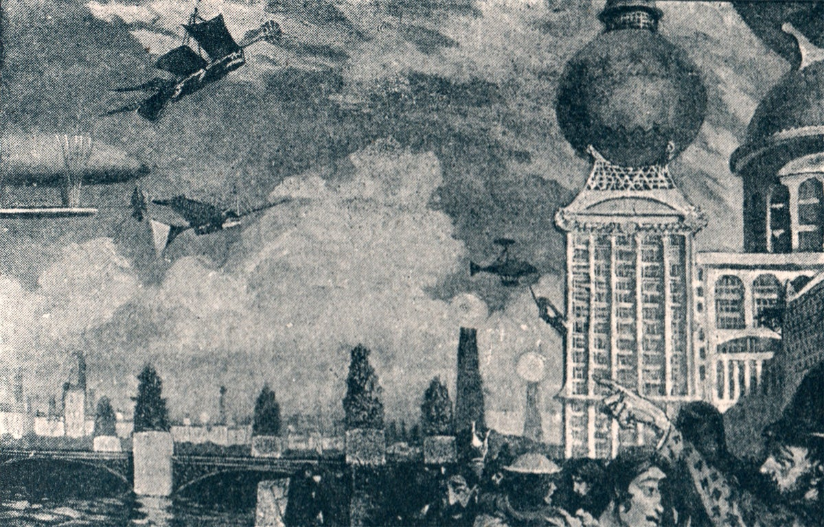 How an Apocalyptic Scifi Novel Imagined the Future 122 Years Ago
