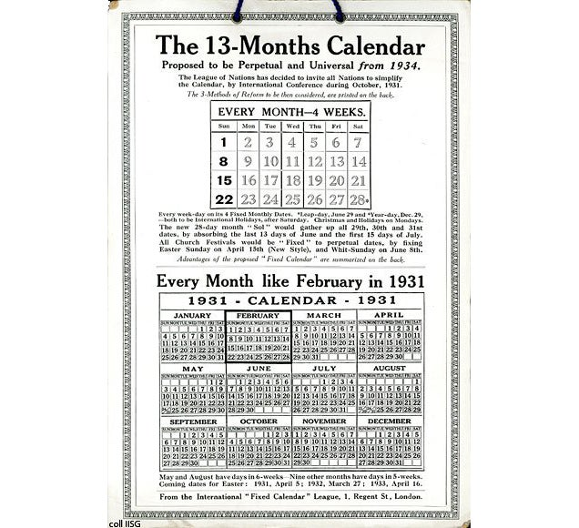 How The Quest For A Perfectly Rational Calendar Created A 13th Month