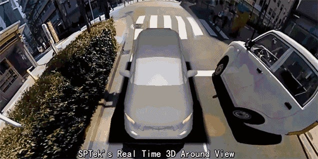 There Are No Blindspots With This Real-Time 3D View Of Your Car