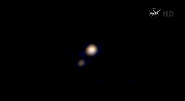 New Horizons' First Colour Photo of Pluto Is One Awe-Inspiring Blur