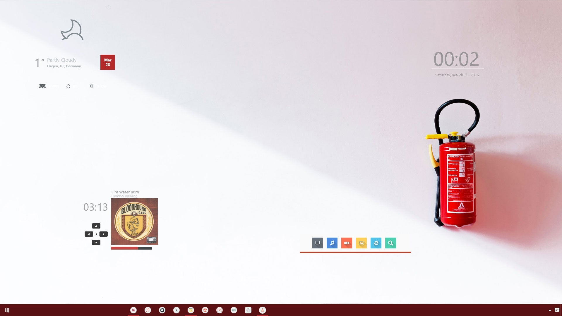 The Fire Suppression Desktop