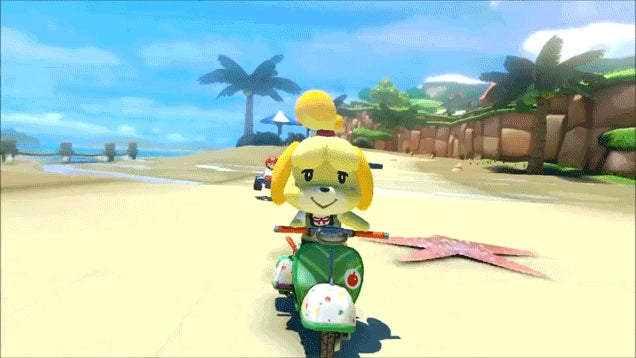 Animal Crossing Makes Mario Kart 8 Cuter