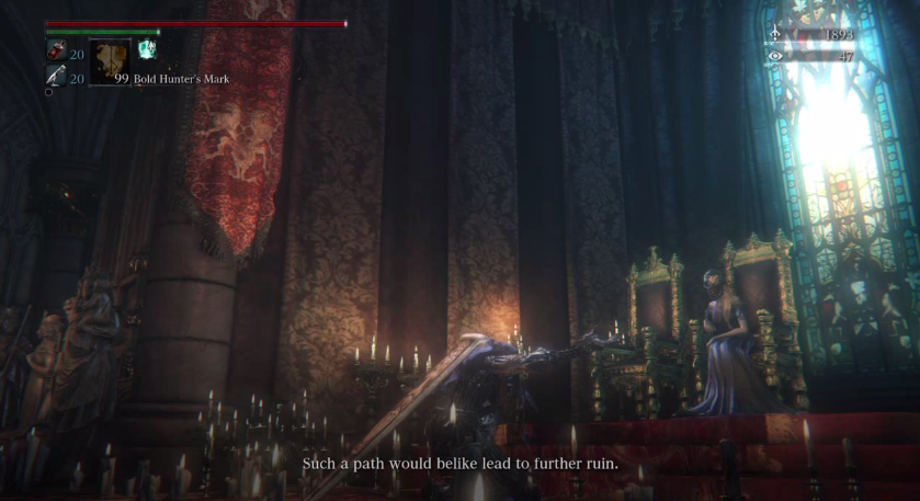 Bloodborne's Cruelest Joke