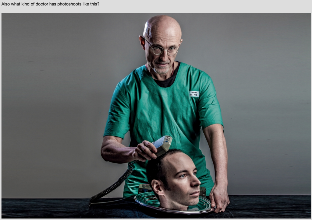 Meet The Head Transplant Doctor at The Center of a Metal Gear Conspiracy