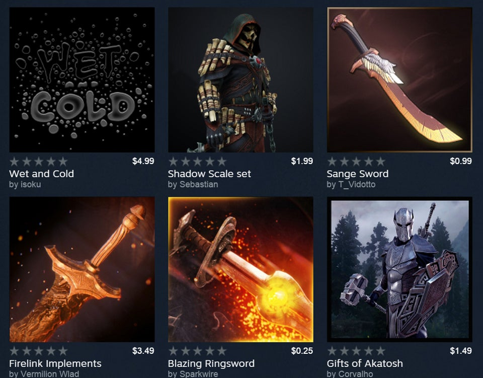People Can Now Charge Money For Game Mods On Steam
