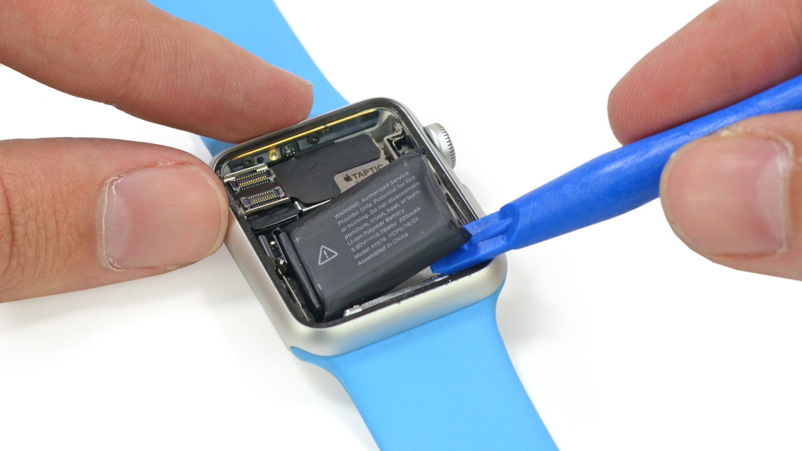 IFixit Is Taking Apart An Apple Watch Right Now