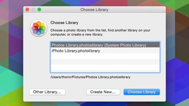 Create Multiple Libraries in Photos with a Keyboard Shortcut