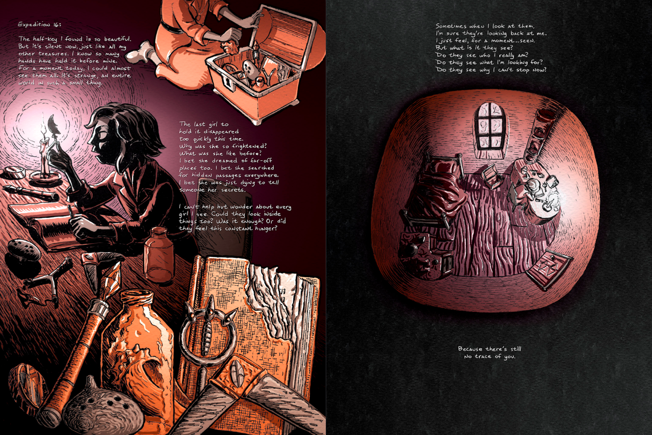 Graphic Novel Second Quest Is A Frightening, Zelda-Inspired Fable