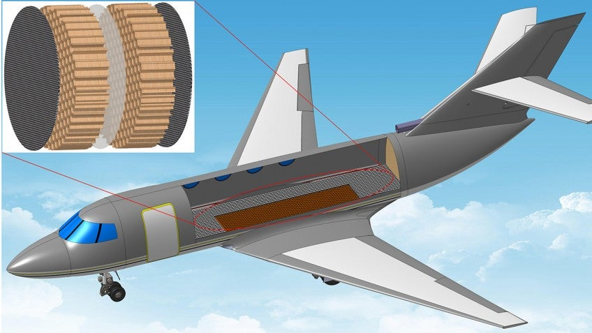 Aeroplane Cabins Could Be 100X Quieter With These Rubber Mufflers