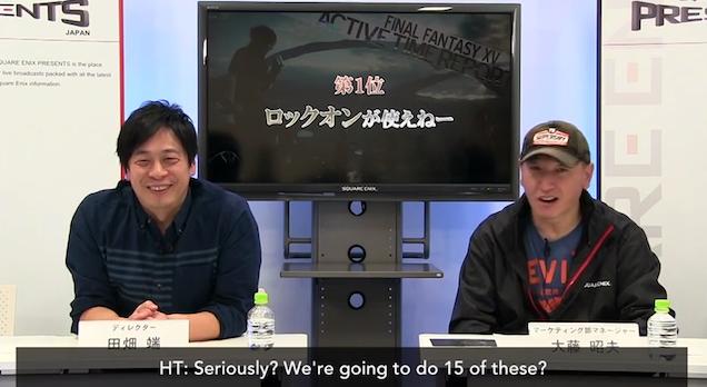 Square Addresses The Top XV Criticisms Of Final Fantasy XV