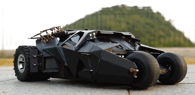 An Onboard Camera Makes It Feel Like You're Driving This RC Batmobile